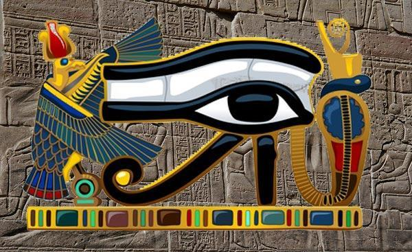 Eye of Horus vector graphics © Greg
